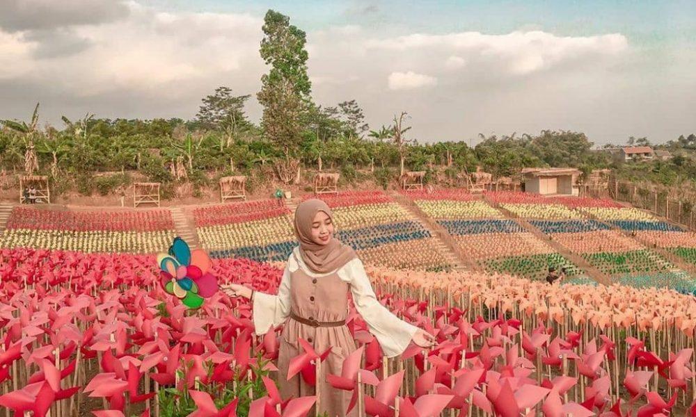 Objek Wisata Bumi Kitiran kawasan Dusun Binangun, Kecamatan Bumiaji, Kota Batu